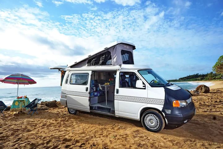 """Moana"" the Luxury Camper Van on Kauai (1999)"