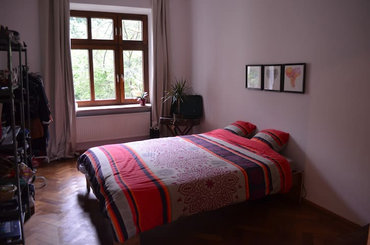 Cozy sunny bedroom in well located appartment - Múnich - Apartamento
