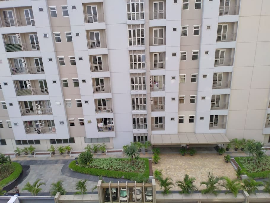 View from the window when you are in the appartement
