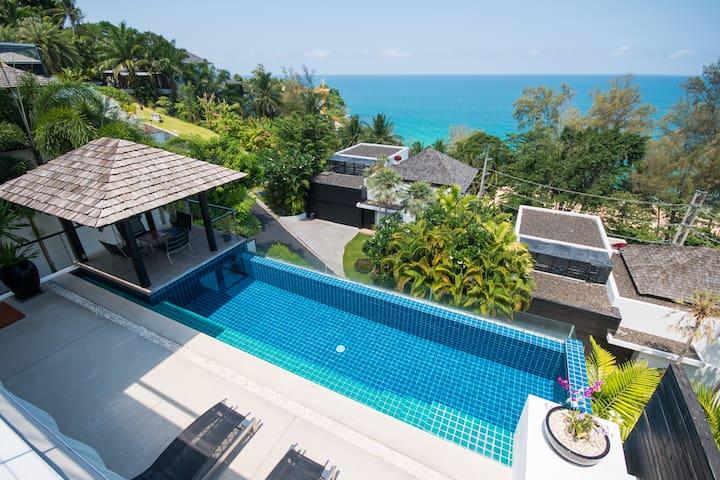 Beautiful 3-Bedroom Villa at Surin Beach - ภูเก็ต - วิลล่า