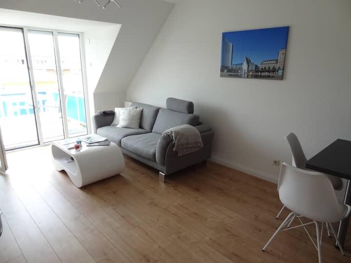 Moderne Ferienwohnung in Leipzig Schleußig