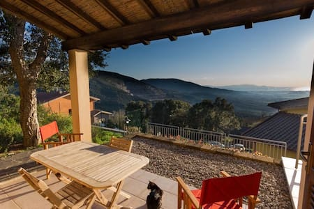 Maremma, in Tuscany, panoramic for2 - Gavorrano - Apartemen