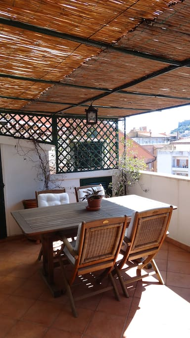 Table in the terrace