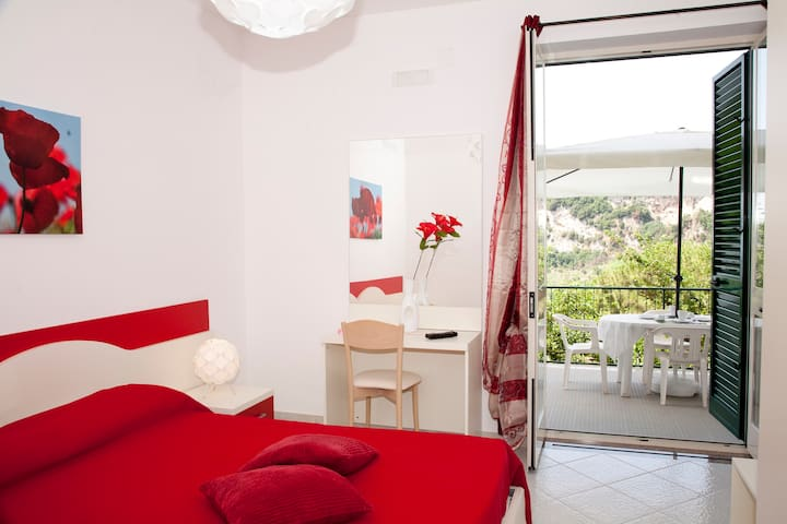 Albachiara B&B on Amalfi coast - Poppy room