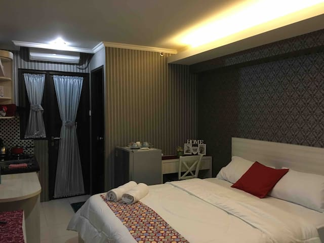 Smart and Safe Apartment in Kebagusan City Royal