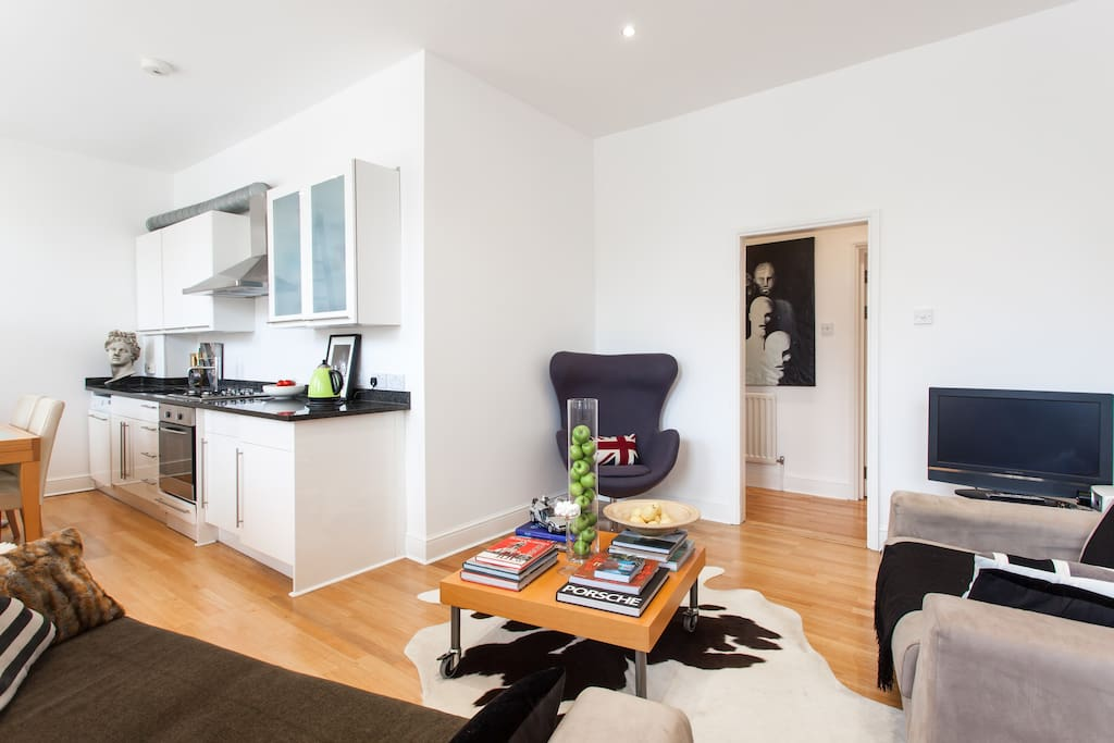 LOFT apartment in Hoxton WIFI   £99