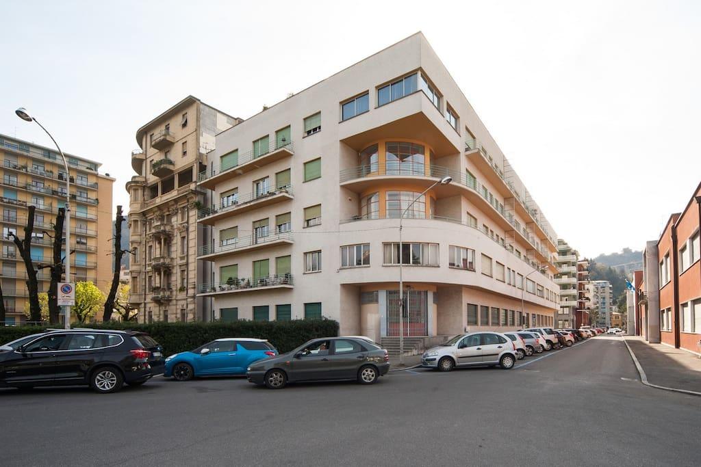 Como appartamento vista lago appartamenti in affitto a for 3 piani della casa della camera da letto di storia 5