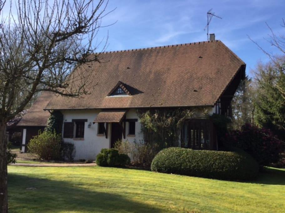 sweet home near deauville honfleur houses for rent in saint gatien des bois normandy france. Black Bedroom Furniture Sets. Home Design Ideas