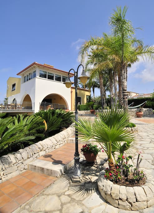 The villa is set up for perfectly accommodating any group....