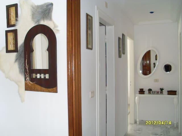 Jolie appartement spacieux et lumineux - En Nekhilet - Διαμέρισμα