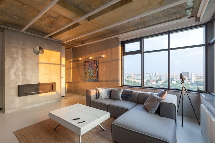 Просторная квартира с панорамным видом на ВДНХ