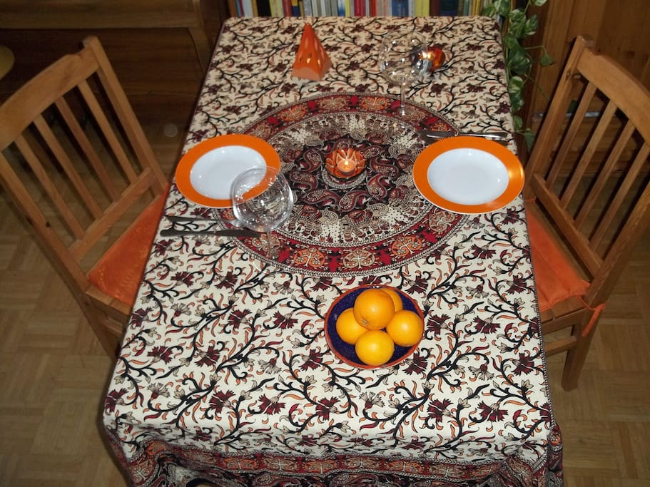 Table for your breakfast or your meals