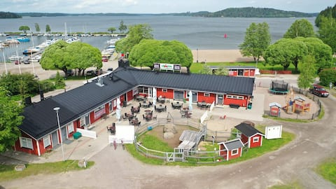Caravan trailer experience at Camping Messilä