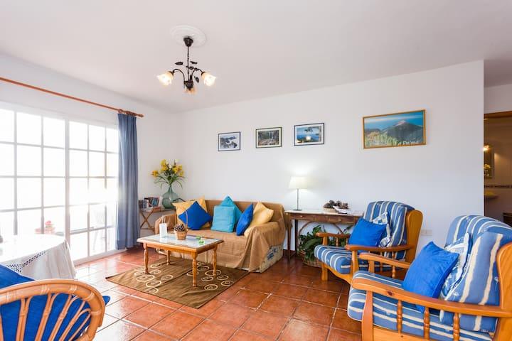 Apartamento en el sur de La Palma - Fuencaliente (Los Quemados)