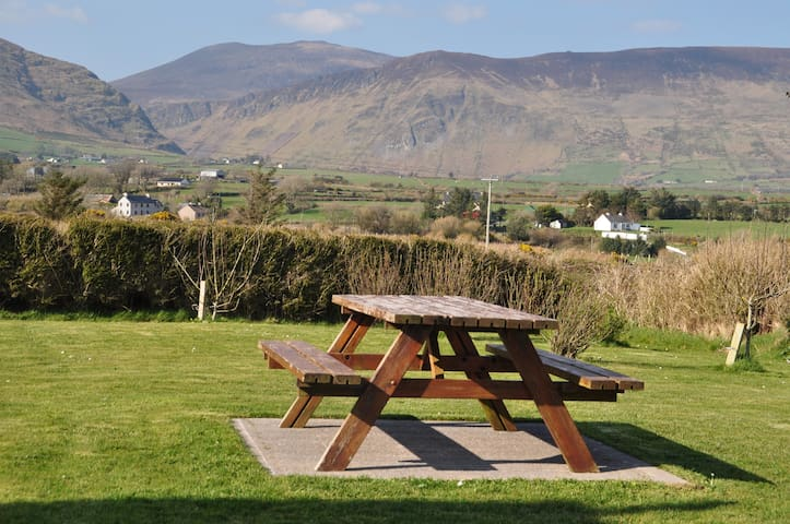 Picnic bench with a wonderful view