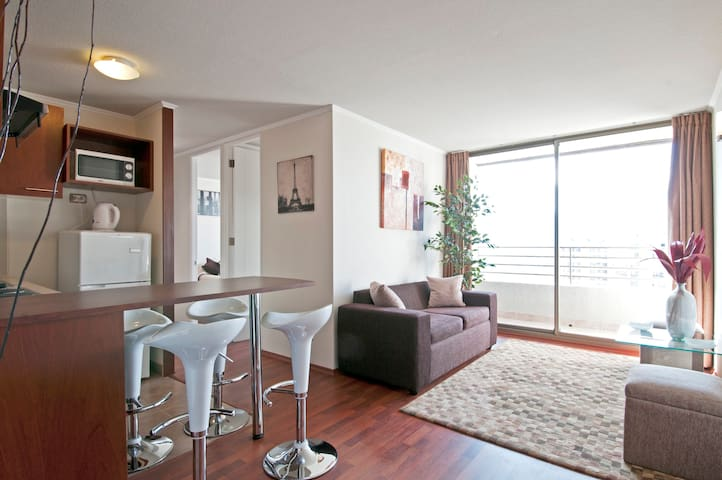 SALE ! 2 BEDROOMS ANDES VIEW - Santiago - Apartament
