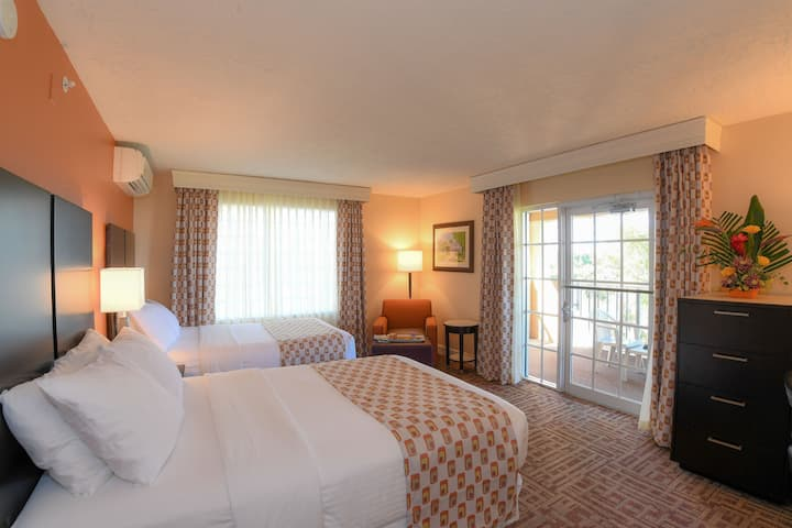 Large Balcony, Handicap Accessible Double Room