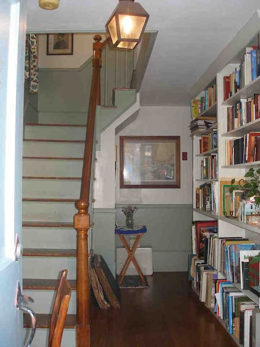 Stairs to the bedroom