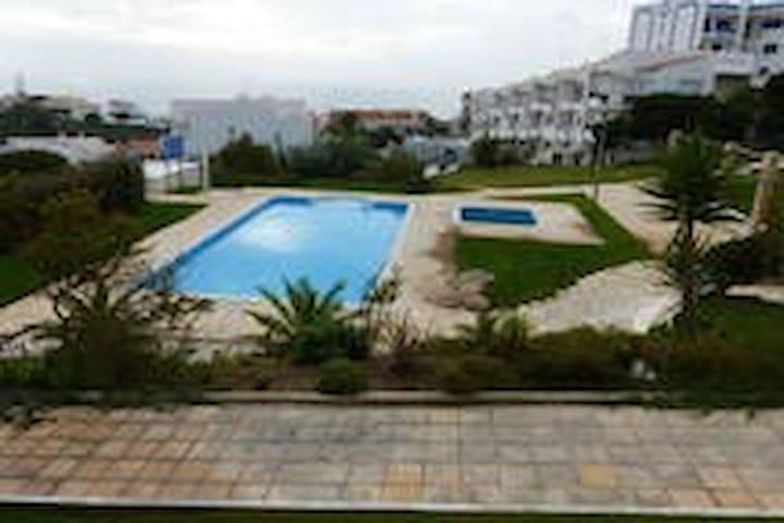 Apartamento Ericeira com terraço e vista de mar