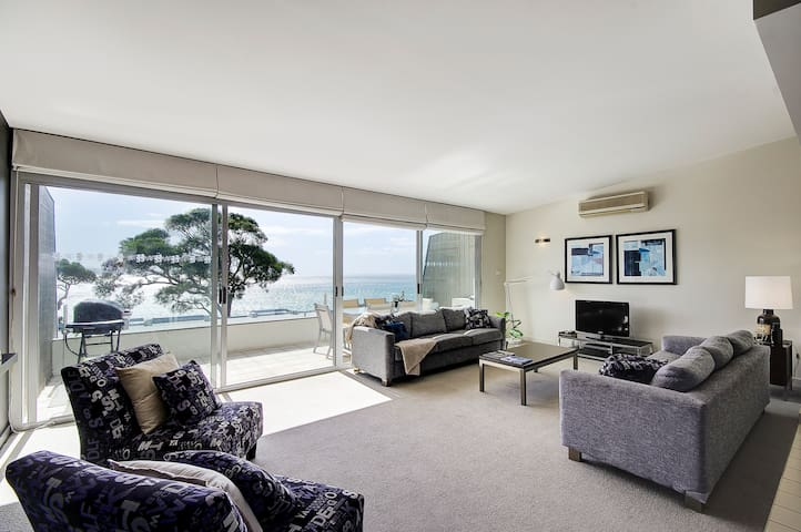 Coastal Lorne  Ocean Apartment 3 bedrooms. - Lorne - Pis