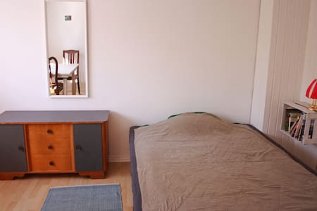 direkt am Kocher-Jagst-Radweg, weißes Zimmer - Schwäbisch Hall - Huis