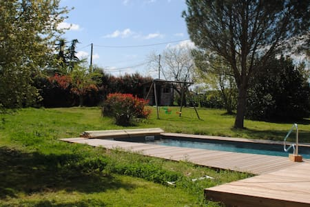 House with private pool and garden - Maison