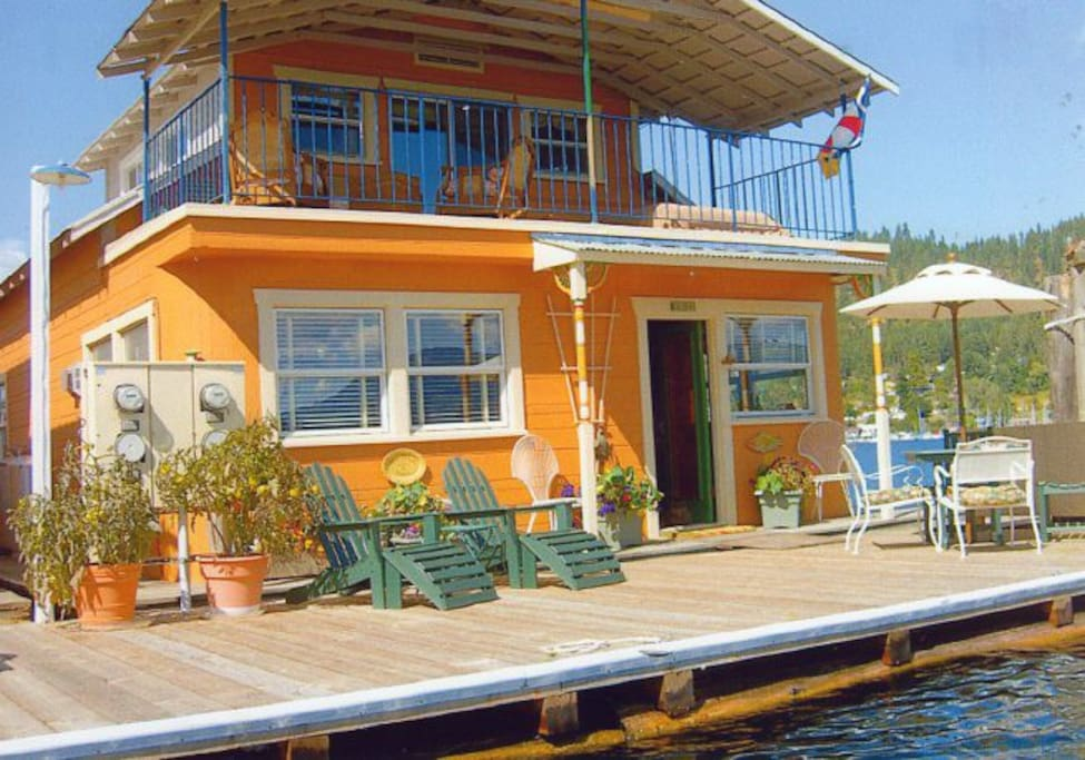 The funky, fun Floathouse