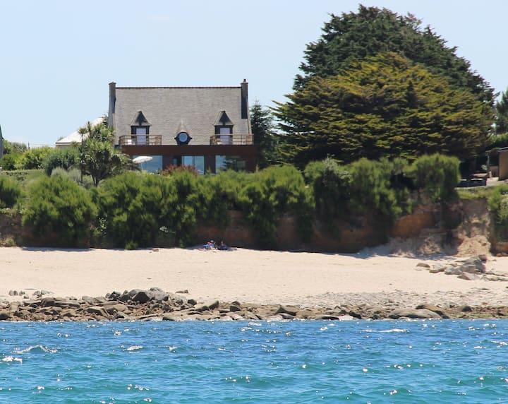 Villa de la Dune Piscine face à Plage Mer et Surf