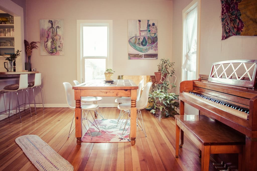 Just fyi- the piano is no longer at the house.
