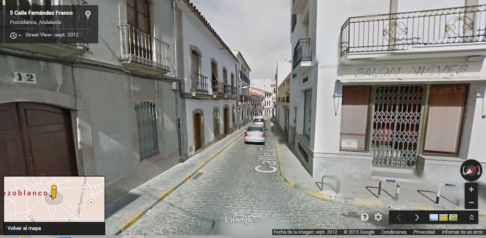 Habitaciones privadas en Pozoblanco - Pozoblanco - Дом