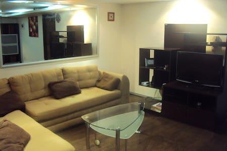Comfortable y apacible apartamento - Ciudad de México - Apartmen