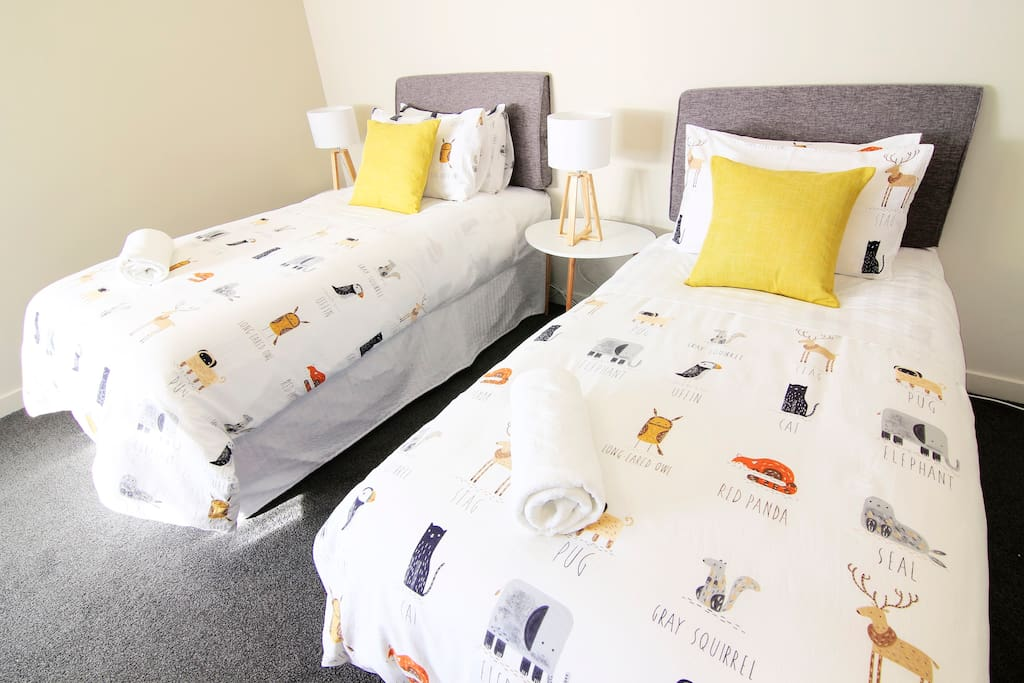 ROOM 1 We have renovated the room in April 2018. The walls are repainted, and we have replaced new items such as carpets, curtains, mattress, bedding and others... Just to provide you with a warm and cosy place that could make you feel like home.