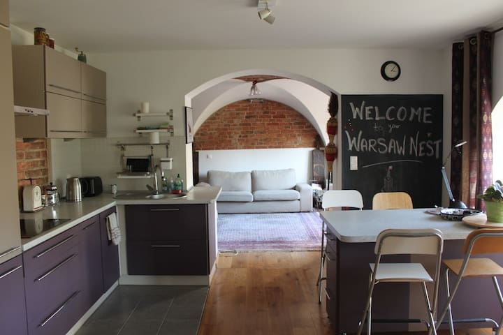 Warsaw Nest - feel like at home :) - Varsovia - Apartamento