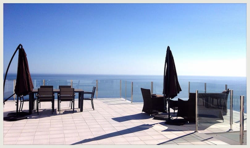 Private infinity pool w seaview - Salobreña - Huis