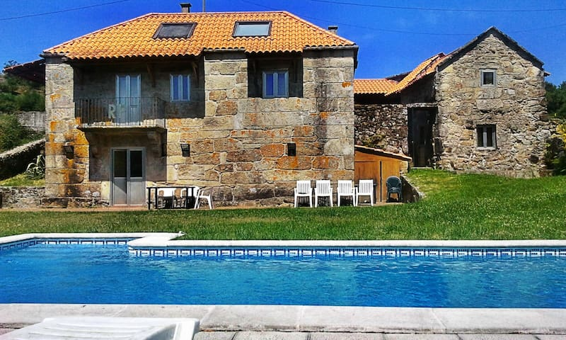 Peaceful house in delightful place - Carballeira - Hus