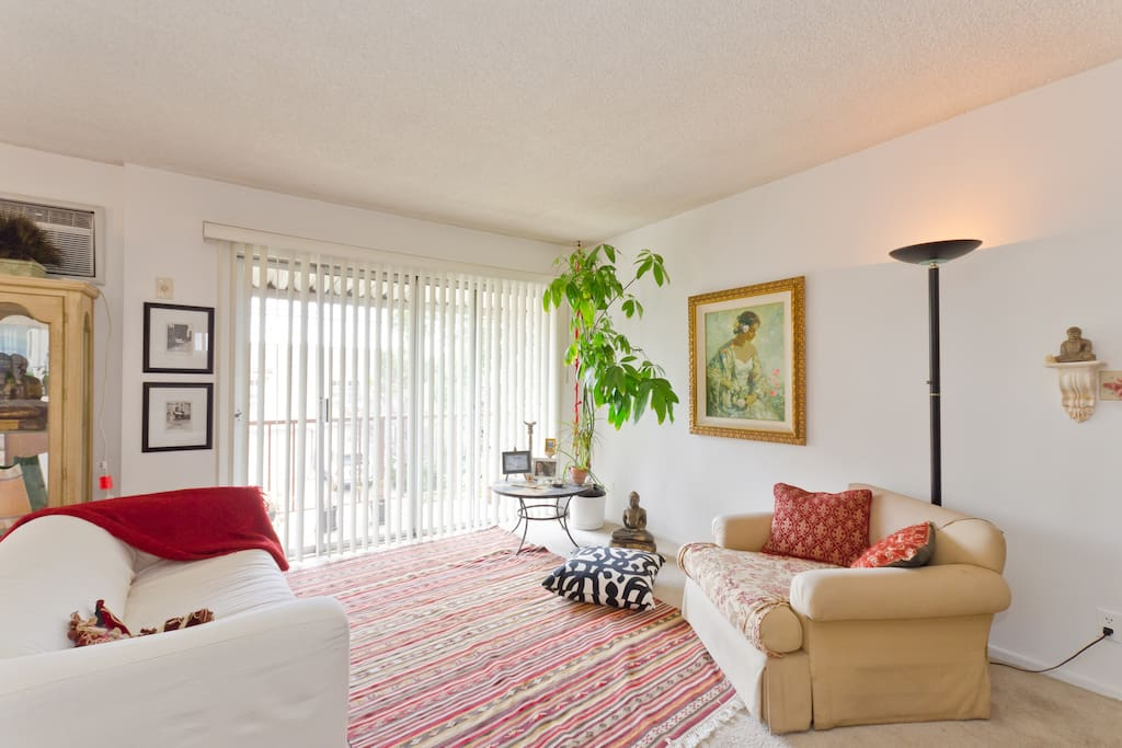 Bright and specious living area