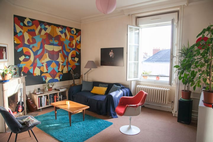 90m2 à 5 min du centre d'Angers - Angers - Apartment