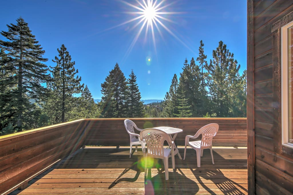 Indulge in a one of a kind California retreat with this dazzling Truckee vacation rental cabin!