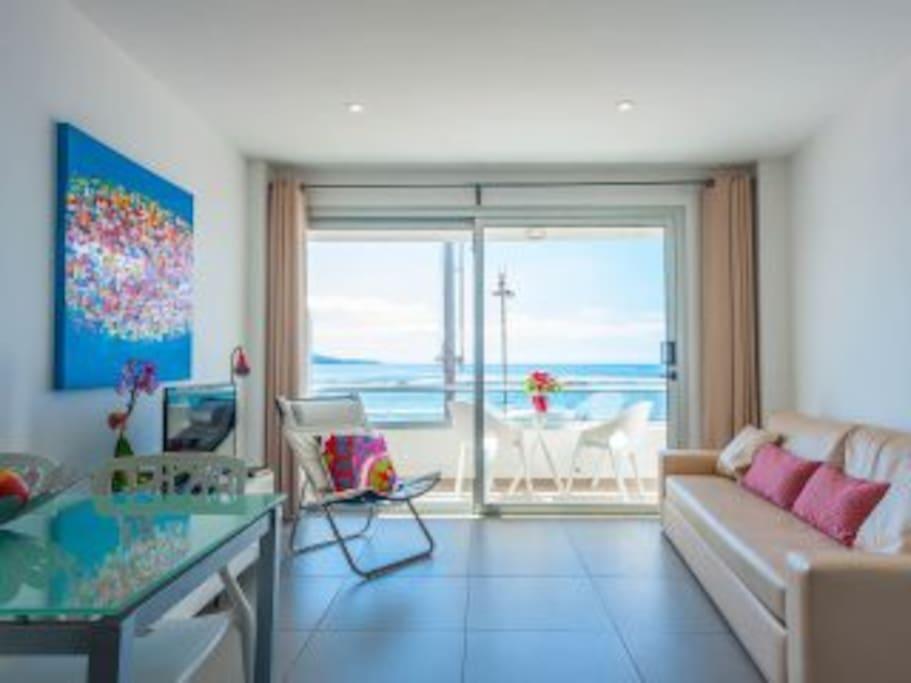 Apartamento en 1 l nea de playa apartamentos en alquiler en las palmas de gran canaria - Apartamento en gran canaria ...