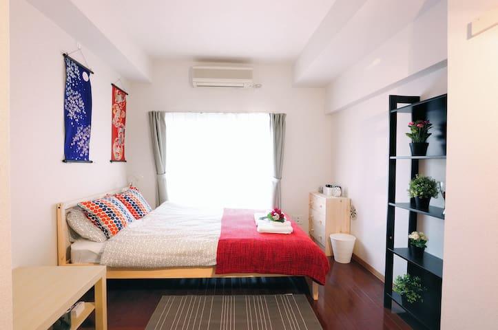 12 Asakusa & SKYTREE/wifi/MAX 3Guest - Sumida-ku - Appartement