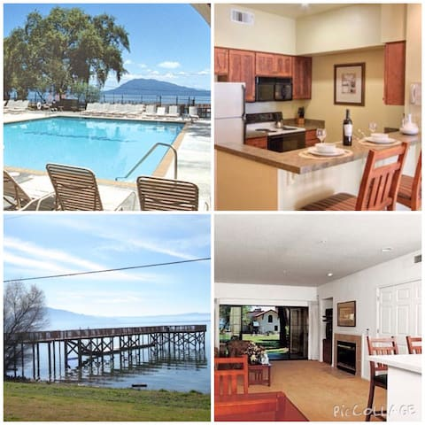Clear Lake Resort - 2 Bdrm - Slps 6 - Nice - Apartamento