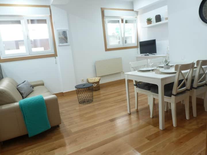 Apartamento duplex en el centro de Hondarribia.