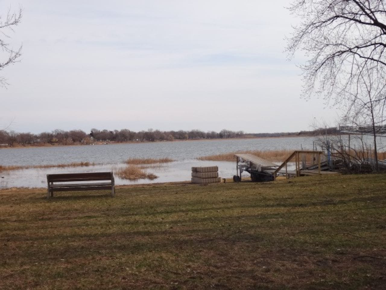 Lake access (private beach area with docks)
