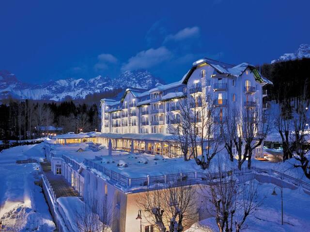 Suite 4 persone a Cortina
