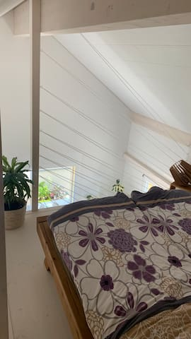 Mezzanine avec lit 160x200