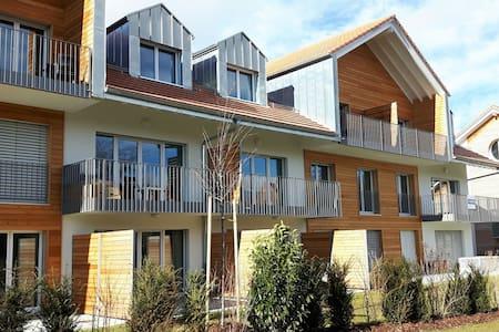 Studio de standing neuf avec terrasse - Billens-Hennens - Apartamento