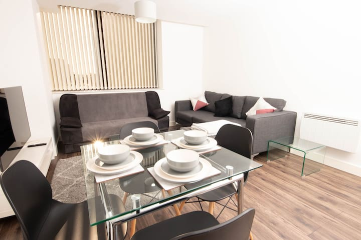 Birmingham City Centre Broad Street Lush Apartment