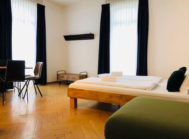 Camera Familiare con cucina e bagno privato