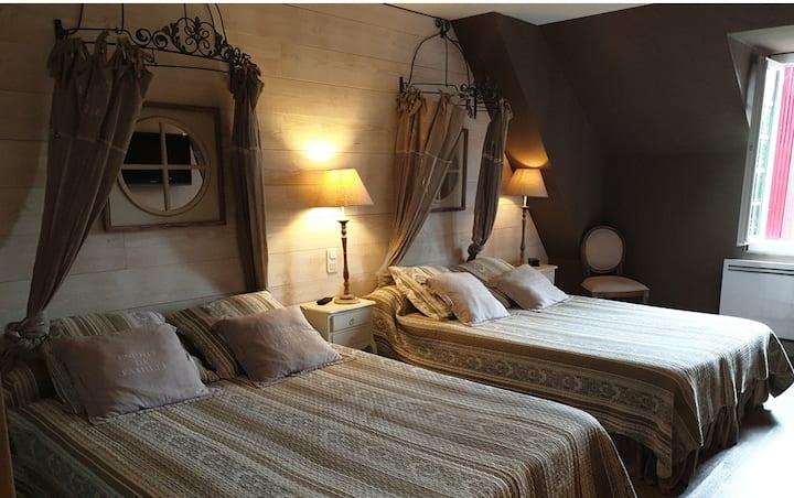 Hostellerie Belle Rive - Chambre Familiale
