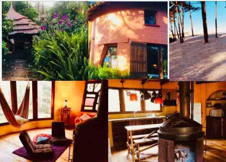 Beach front round house-El Pinar-Espacio Alaluz